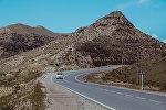 Исфана — Баткен жолу. Архивдик сүрөт