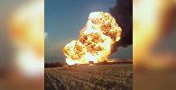 Момент взрыва на АЗС в Баткене — три видео с разного ракурса