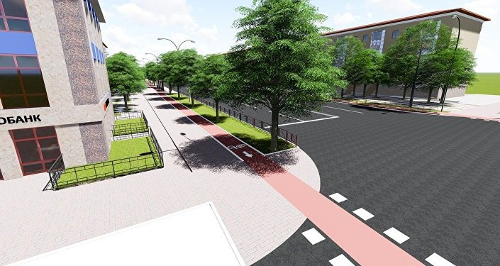 Проект предусматривает изменение городской среды в пределах улично-дорожной сети
