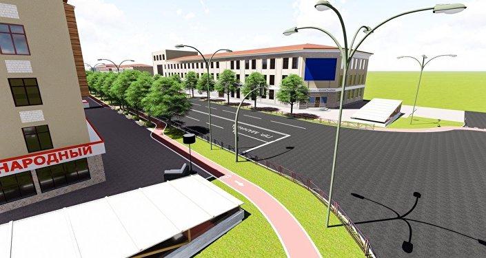 Проект реконструкции проспекта Манаса/Чингиза Айтматова предусматривает его ремонт от улицы Семетей до проспекта Жибек Жолу (9 километров).