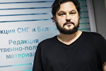 Шеф-редактор Sputnik Латвия Валентинс Роженцовс. Архивное фото