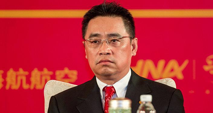 Председатель совета директоров и соучредитель китайского конгломерата Hainan Airlines (HNA) Group Ван Цзянь. Архивное фото