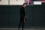 Вратарь сборной Бельгии Симон Миньоле на тренировке перед матчем. Архивное фото