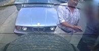 Туристов из Казахстана преследовал милиционер на BMW. Видео