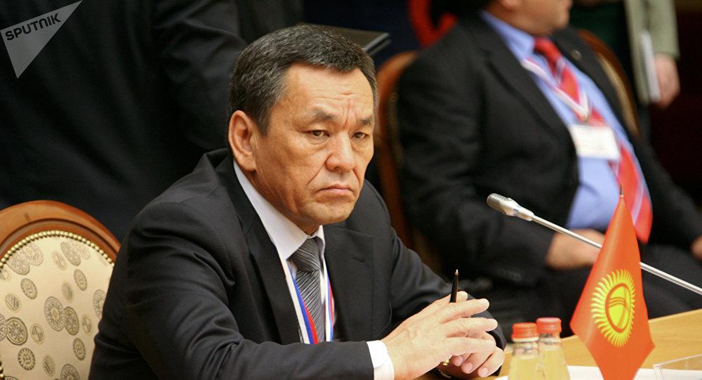 Экс-министр внутренних дел КР Молдомуса Конгантиев. Архивное фото