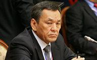 Архивнео фото бывшего министра внутренних дел Молдомусы Конгантиева