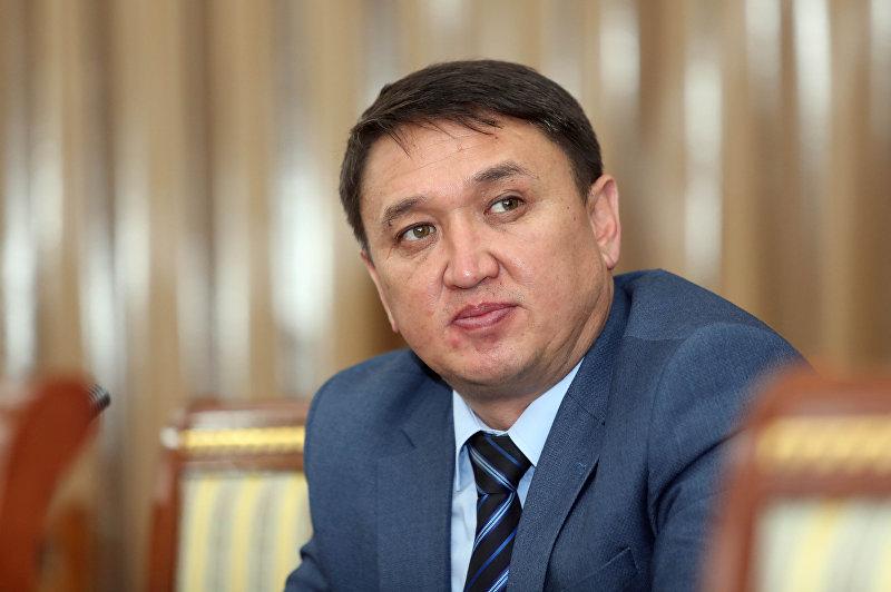Председатель Государственного комитета информационных технологий и связи Бакыт Шаршембиев