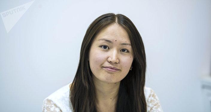 Intern.kg ишке орноштуруу платформасынын координатору Бегимай Мурзахматова