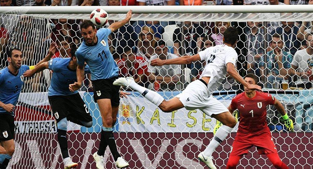Франция вышла вполуфинал ЧМ, обыграв Уругвай