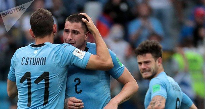 Футбол. ЧМ-2018. Матч Уругвай - Франция