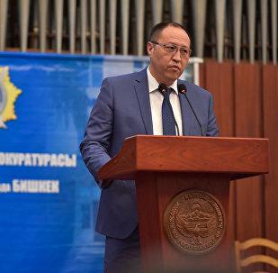 Архивное фото первого вице-мэра Бишкека Рената Макенова