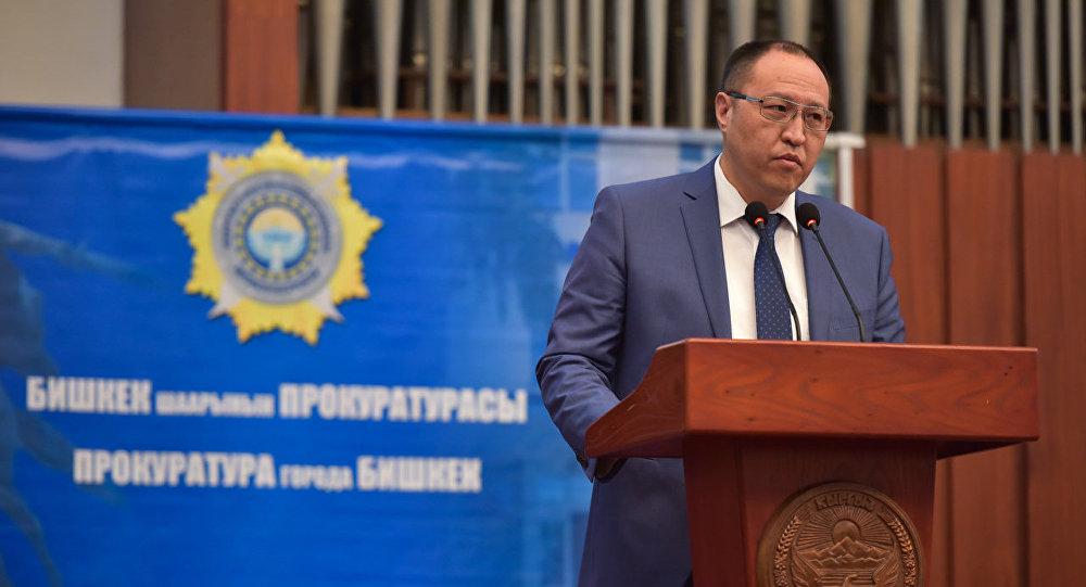 Первый вице-мэр Бишкека Ренат Макенов
