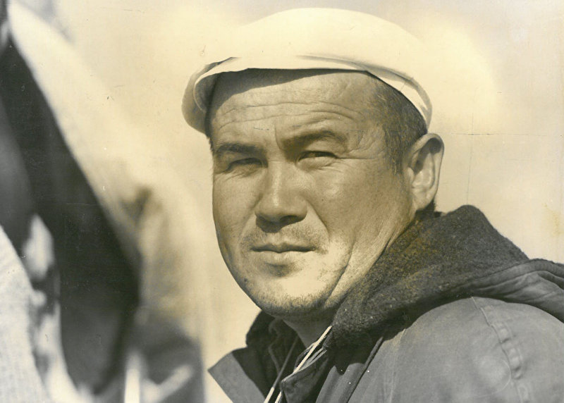 Архивные фотографии знаменитого кыргызского кинооператора Марлеса Туратбекова