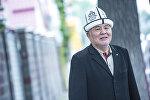Народный артист Кыргызской Республики, актер Дуйшенбек Байдоботов. Архивное фото