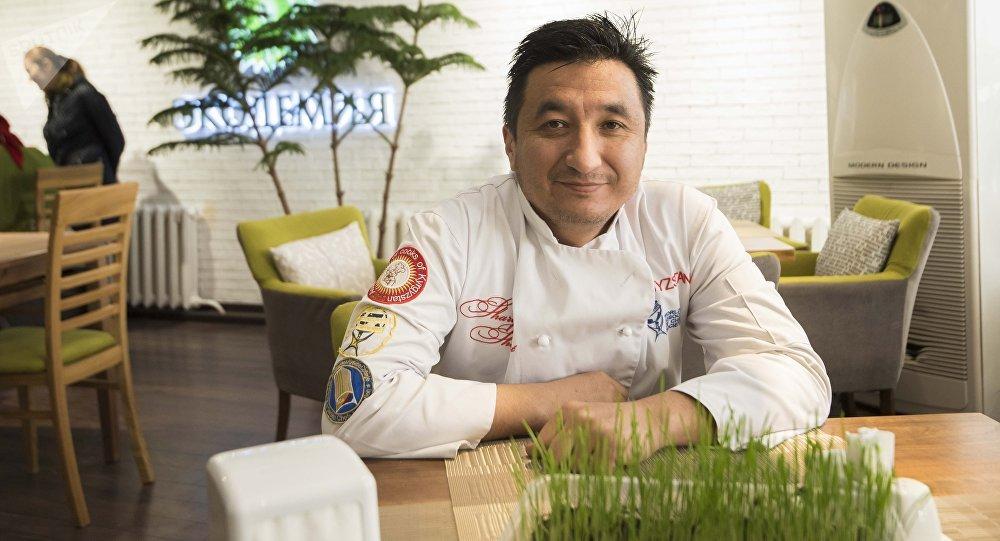 Бишкекский шеф-повар Шухрат Шарипов. Архивное фото