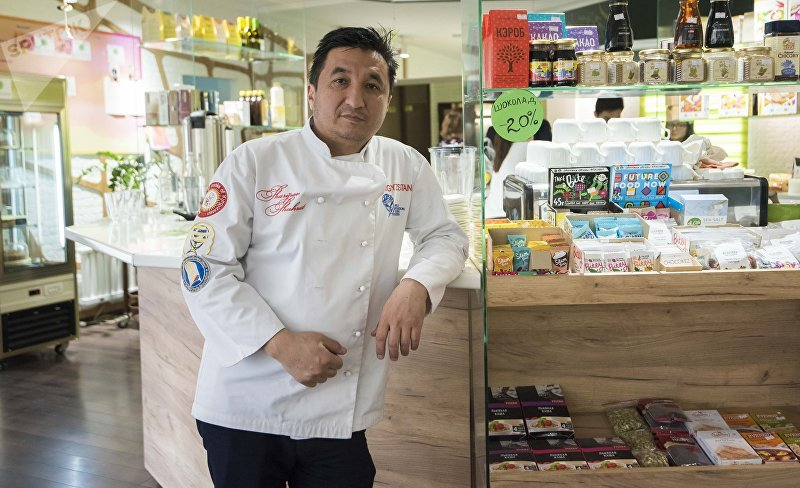 Бишкекский шеф-повар Шухрат Шарипов