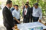 Түркиядан Нарын шаарындагы эс алуу жайын реконструкциялоо, облустагы университетинин алдында ветеринардык лаборатория, кыргыз-түрк факультетин курууга даярдык көрүү үчүн атайын делегация келди