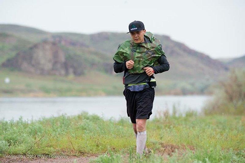Кыргызстанский ультрамарафонец Казбек Мияров