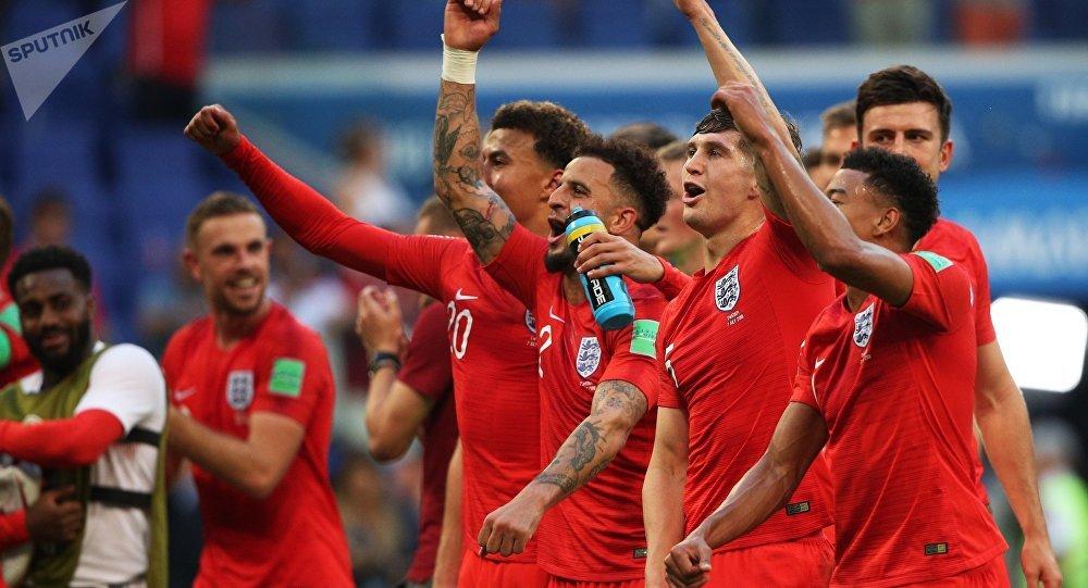 Футбол. ЧМ-2018. Матч Швеция - Англия