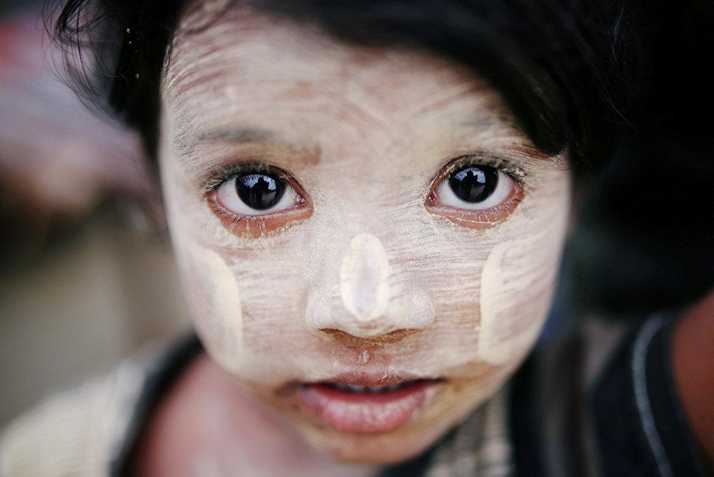Бангладештеги качкын рохинджа бала