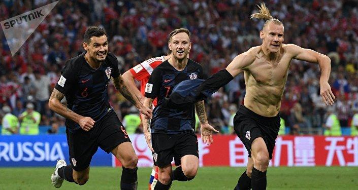 На 101 минуте в пользу Хорватии был забит третий гол Домагой Вида.