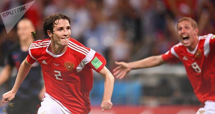 Российская команда сравняла счет на 115 минуте — автором гола стал Марио Фернандес