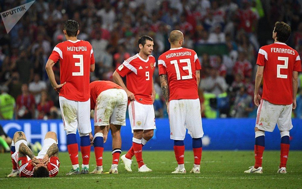 Футбол боюнча Россиянын курама командасы чейрек финалда Хорватияга утулуп калды