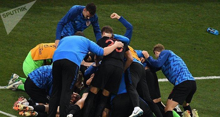 Сборная Хорватии обыграла Россию со счетом 4:3