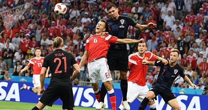 В основное время счет был равный, 1:1, в дополнительное — 2:2, затем была назначена серия пенальти, в результате чего хорваты одержали победу