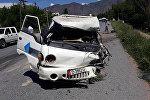 На трассе Бишкек — Ош в Чаткальском районе, на 298-м километре трассы произошла авария со смертельным исходом