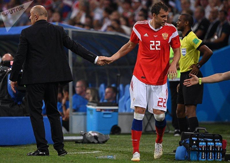 Футбол. ЧМ-2018. Матч Россия - Хорватия