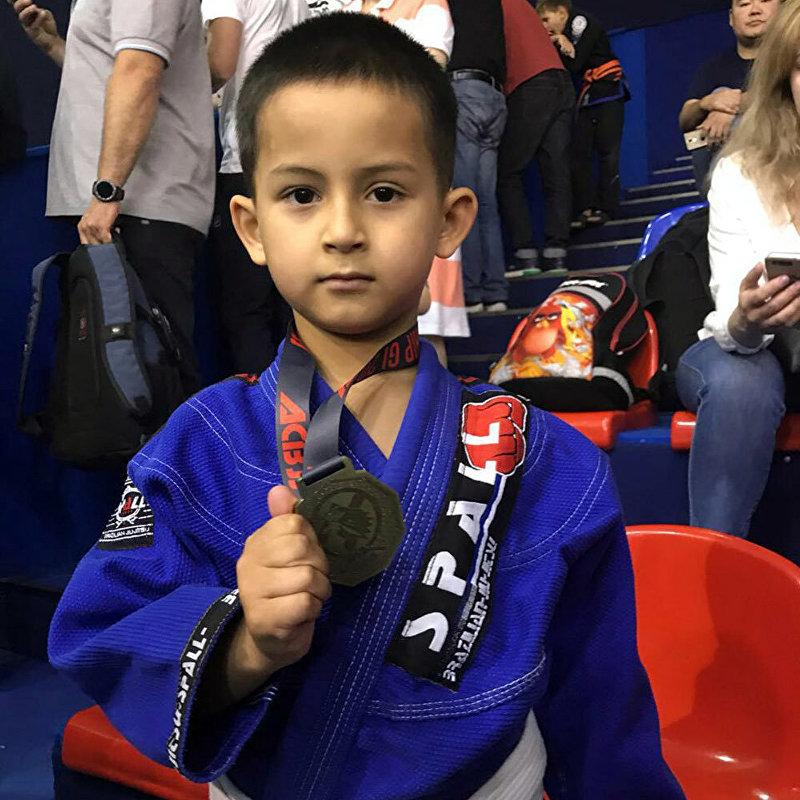 Пятилетний кыргызстанец Умар Марасулов стал чемпионом мира по джиу-джитсу