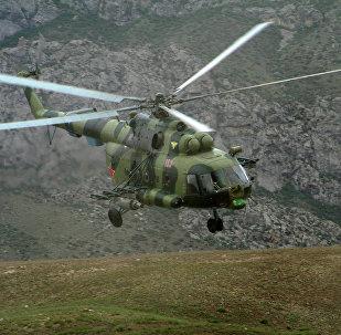 Архивное фото вертолета Ми-8 МТВ