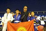Кыргызстандык спортчулар жиу-житсу боюнча дүйнө чемпионатынан сегиз медаль менен кайтышты