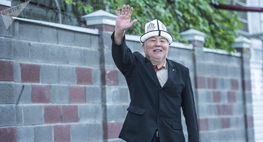 Кыргыз эл артисти, белгилүү актер Дүйшөнбек Байдөбөтовдун архивдик сүрөтү