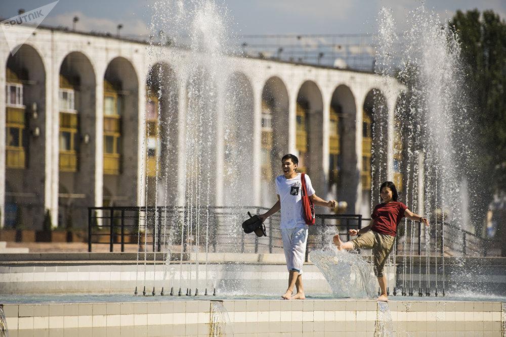 Аномальная жара в Бишкеке