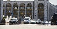 Автомобильное движение на проспекте Чуй в Бишкеке. Архивное фото