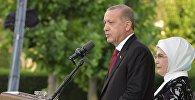 Премьер-министр РФ Д. Медведев посетил Турцию для участия в церемонии инаугурации президента Р. Эрдогана