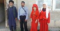 Нарынга жайгашкан памир кыргыздары. Архивдик сүрөт