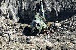Вертолет воздушной обороны ВС КР потерпевший крушение на Иссык-Куле