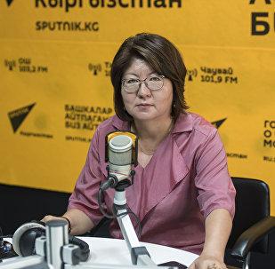 Маданият, маалымат жана туризм министринин орун басары Айнура Темирбекова