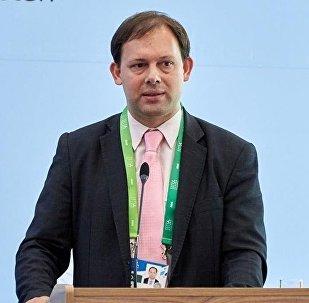 Руководитель Субрегионального офиса добровольцев ООН по Европе и СНГ Дмитрий Фрищин. Архивное фото