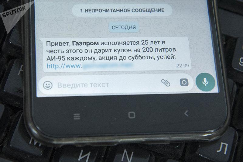Рассылка сообщений об акции в WhatsApp