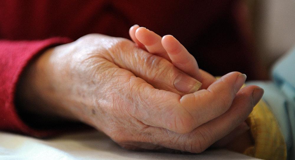 Пенсионер. Архивное фото