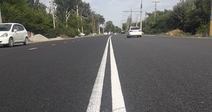В Бишкеке планируют закрыть улицу Уркуи Салиевой от улицы Лермонтова до Ауэзова на ремонт с 12 июля