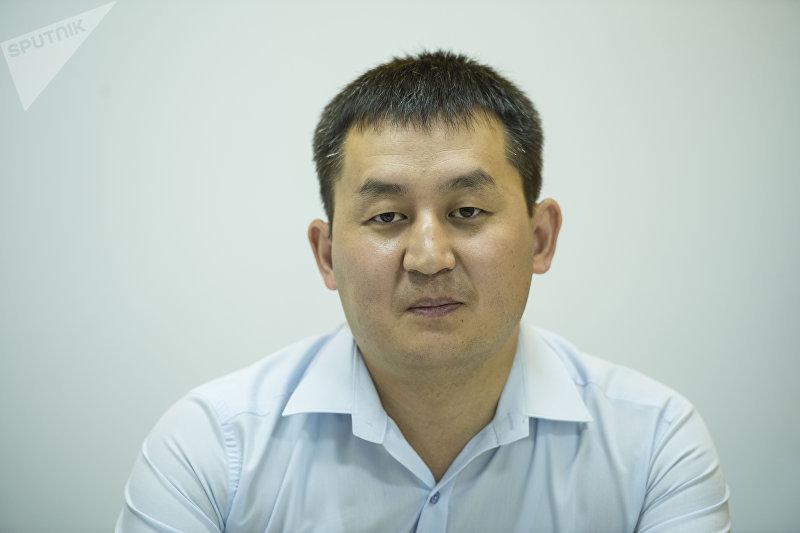 Вице-консул Посольства Кыргызстана в России Алмаз Букалаев