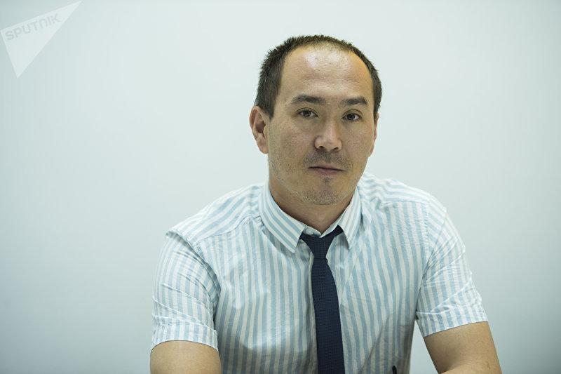 Заведующий отделом трудовой миграции граждан за рубежом ГСМ КР Улан Шамшиев