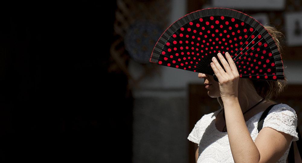 Аномальная жара в Испании