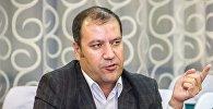 Организатор и директор сборной команды КВН Таджикистана Хайрулло Мирсаидов. Архивное фото