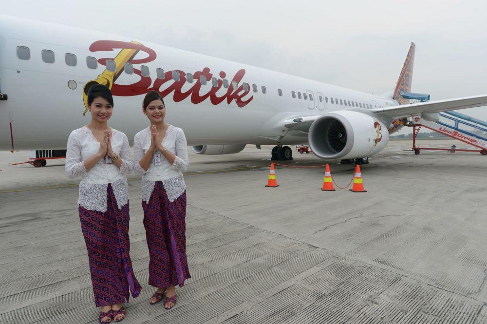 Индонезийские стюардессы